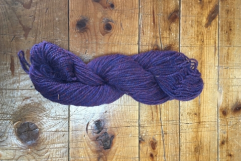 Purple Heather - 3 ply current out of stock