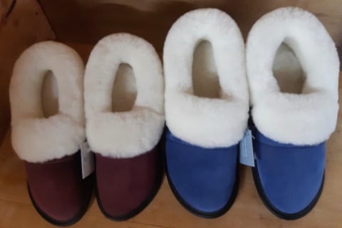 Sheepskin Slippers - $95 (various colours and sizing available)